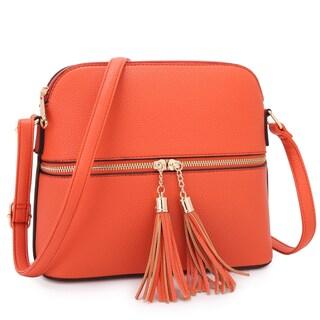 Dasein Women All-In-One Fashion Crossbody Bag
