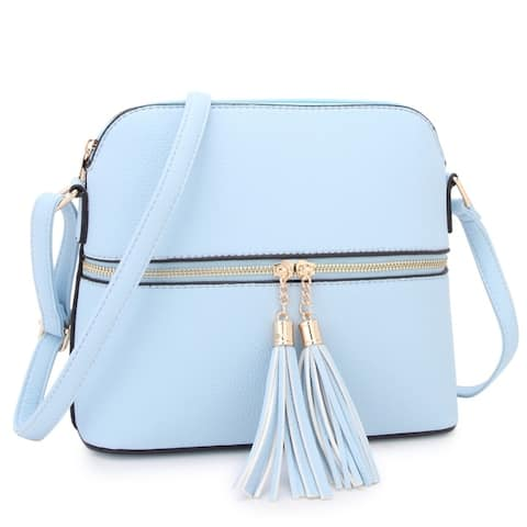 7537ada310bd17 Blue Handbags | Shop our Best Clothing & Shoes Deals Online at Overstock