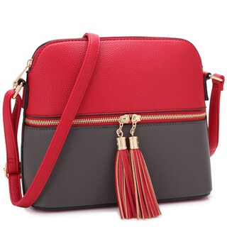 Dasein Women All-In-One Fashion Crossbody Bag