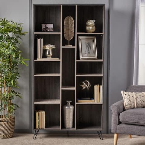 Imogen Modern Faux Wood Bookshelf by Christopher Knight Home