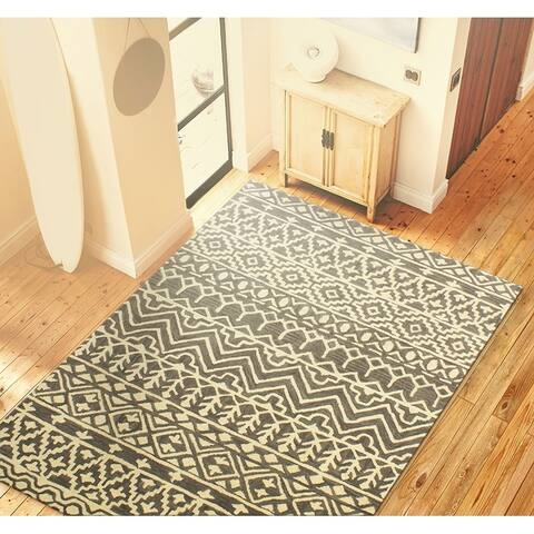Summit Contemporary Hand Tufted Area Rug