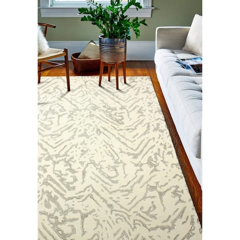 Canyon Contemporary Hand Tufted Area Rug