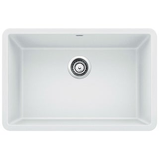"Blanco Precis 27"" Single Undermount Sink 522429 White"