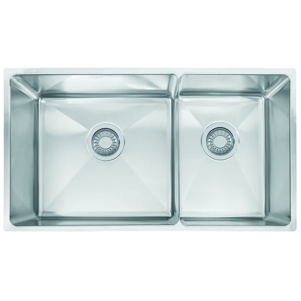Franke Professional Series Double Bowl Undermount Kitchen Sink ...