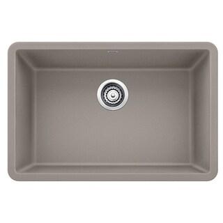 "Blanco Precis 27"" Single Undermount Sink 522432 Truffle"