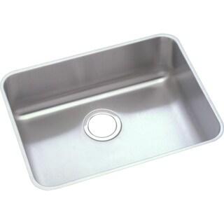 """Elkay Lustertone Stainless Steel 21-1/2"""" x 18-1/2"""" x 5-3/8"""", Single Bowl Undermount ADA Sink"""