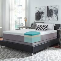 Slumber Solutions Choose Your Comfort 12-inch King-size Gel Memory Foam Mattress Set