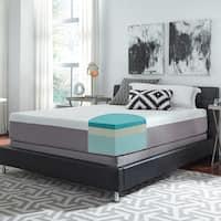 Slumber Solutions Choose Your Comfort 12-inch Queen-size Gel Memory Foam Mattress Set