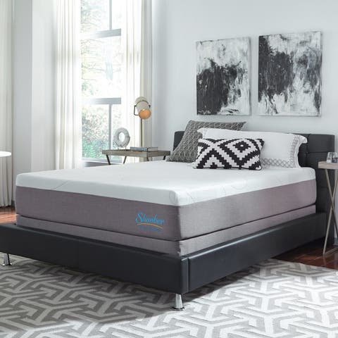 Slumber Solutions Choose Your Comfort 12-inch Gel Memory Foam Mattress Set