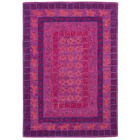 eCarpetGallery Hand-Tufted Timeless Wool Rug