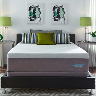 Slumber Solutions Choose Your Comfort 14-inch Queen-size Gel Memory Foam Mattress Set