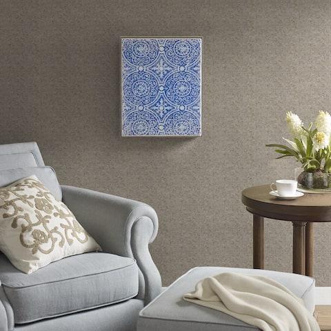 Harbor House Mosaic Tile Circa Blue Crushed Glass