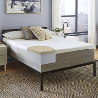 Slumber Solutions Essentials 12-inch King-Size Memory Foam Mattress Set