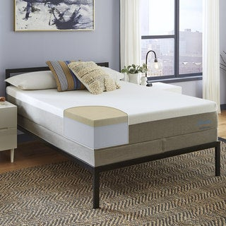 Slumber Solutions Choose Your Comfort 12-inch King-size Memory Foam Mattress Set