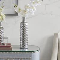 Madison Park Aiden Silver Vase - Large