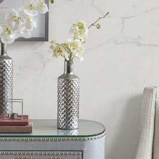 Madison Park Aiden Silver Vase - Medium