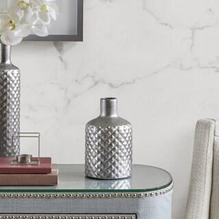 Madison Park Aiden Silver Vase - Small