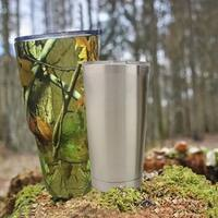 Stainless Steel INSULATED HOT OR COLD YETI STYLE RAMBLER TUMBLER W/ LID