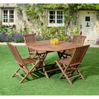 Bali Octagonal Folding Collection Teak