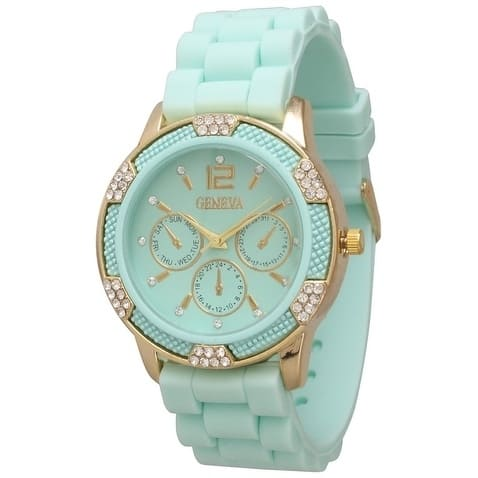 Olivia Pratt Women's Casual Silicone Watch