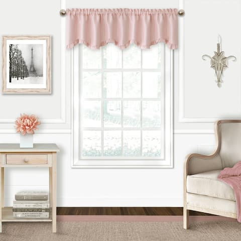 Adaline Nursery and Kids Ruffled Window Valance