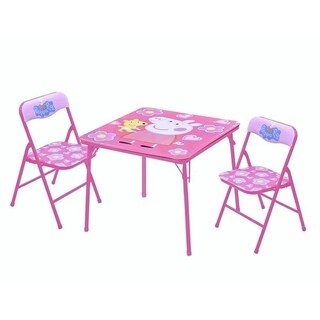 Peppa Pig Table & Chair Set (3 Piece)