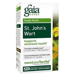 Gaia Herbs St. John's Wort (60 Capsules)