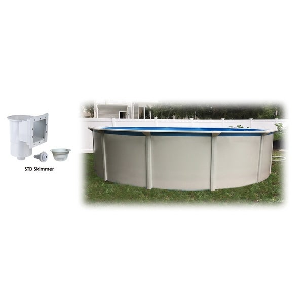 "Bali 24' Round 52"" Steel Wall Above Ground Pool and Skimmer"