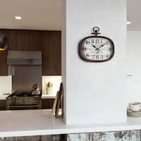 """Yosemite Home Décor """"Hotel Particulier"""" Wall Clock"""