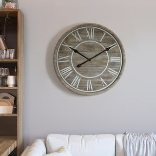"Yosemite Home Décor ""Rustic Age"" Wall Clock"