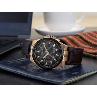 Citizen Men's CB0168-08E Eco-Drive World Perpetual A-T Watch