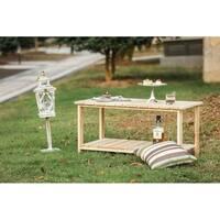 PATIO FESTIVAL ® Wooden Tea Table