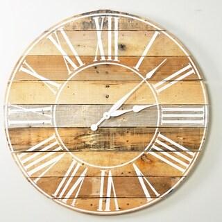Reclaimed American Barnwood 30 Inch Wall Clock - 30.5 X 30.5