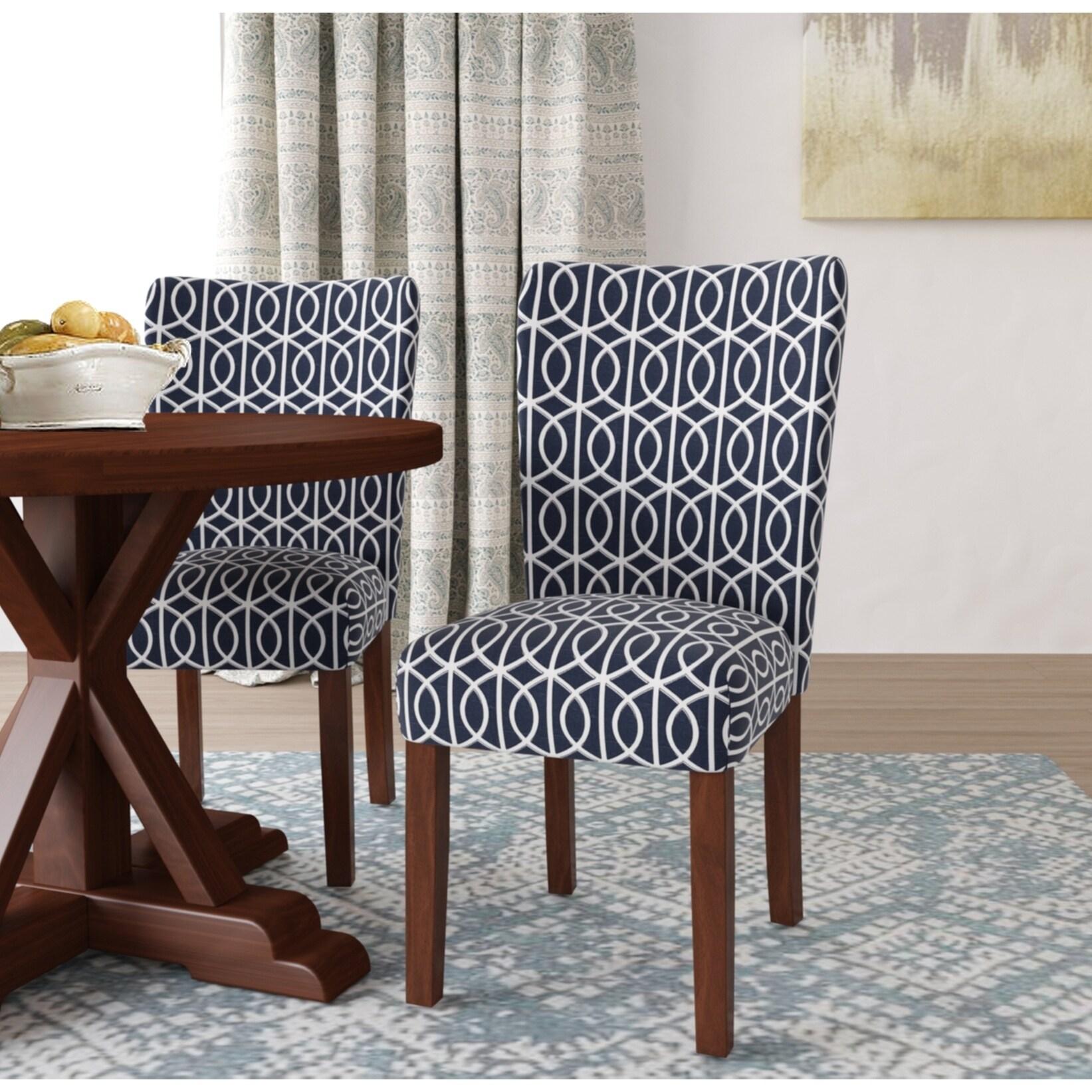 Homepop Bella Parsons Chair Set Of 2 135 64 Picclick