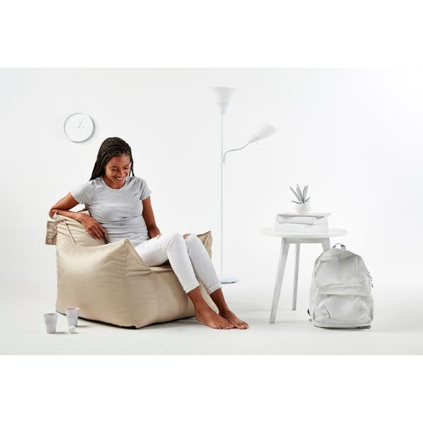 Awe Inspiring Shop Big Joe Mitten Bean Bag Chair On Sale Free Shipping Theyellowbook Wood Chair Design Ideas Theyellowbookinfo