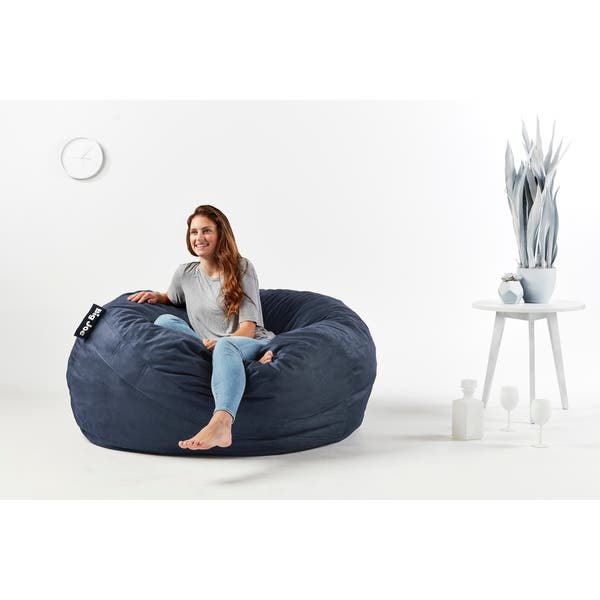 Stupendous Shop Big Joe King Fuf Chair Lenox On Sale Free Shipping Ibusinesslaw Wood Chair Design Ideas Ibusinesslaworg