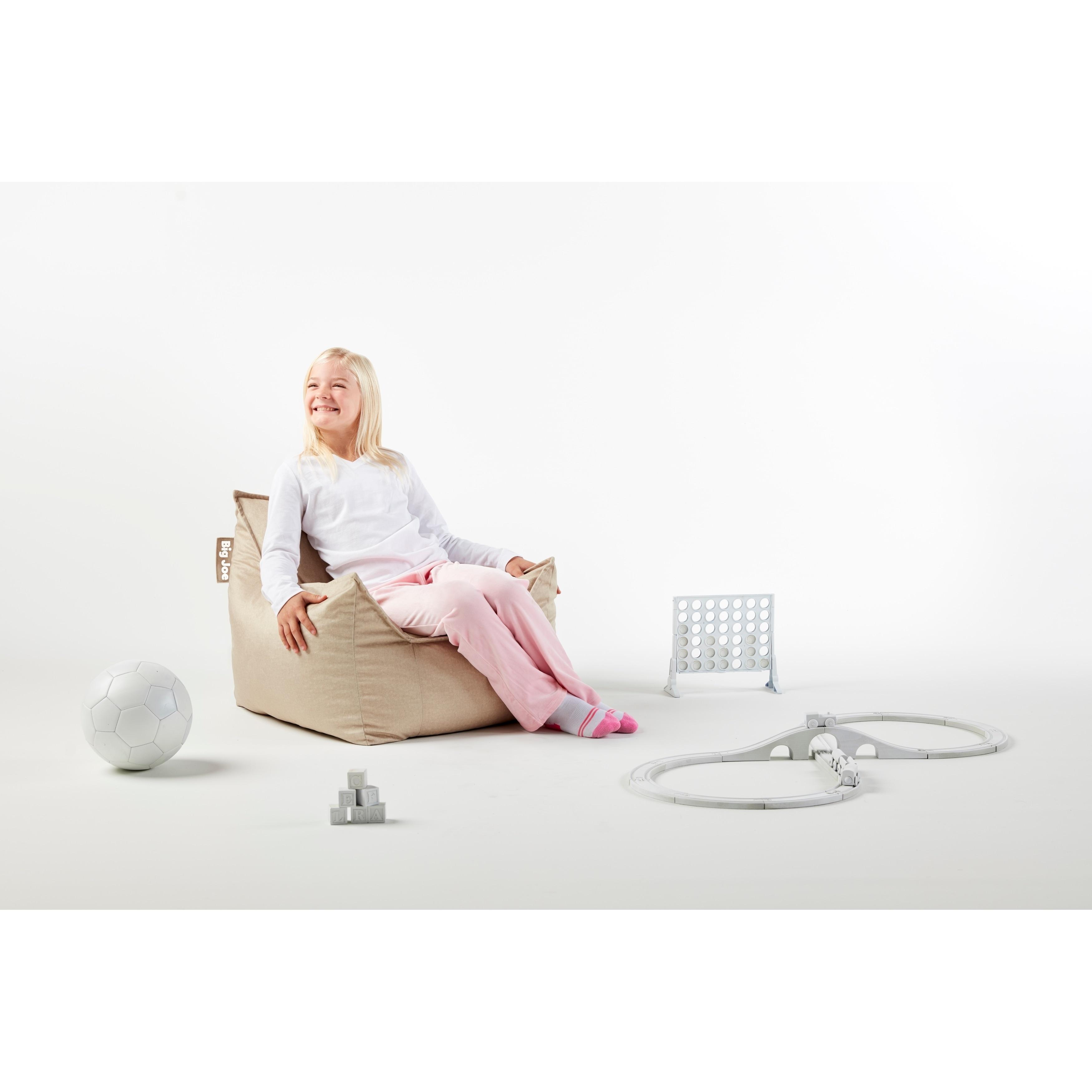 Remarkable Big Joe Kids Mitten Bean Bag Chair Theyellowbook Wood Chair Design Ideas Theyellowbookinfo