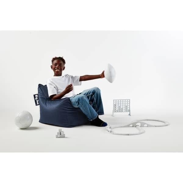 Tremendous Shop Big Joe Kids Mitten Bean Bag Chair Free Shipping Theyellowbook Wood Chair Design Ideas Theyellowbookinfo
