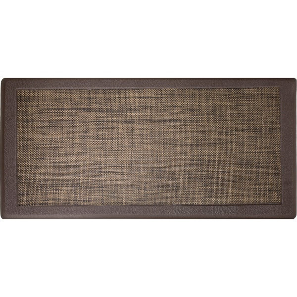 Gentil Hillside Oversized Oil  And Stain Resistant Anti Fatigue Kitchen Mat