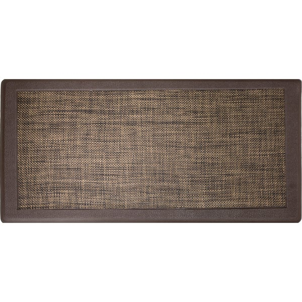 Beau Hillside Oversized Oil  And Stain Resistant Anti Fatigue Kitchen Mat