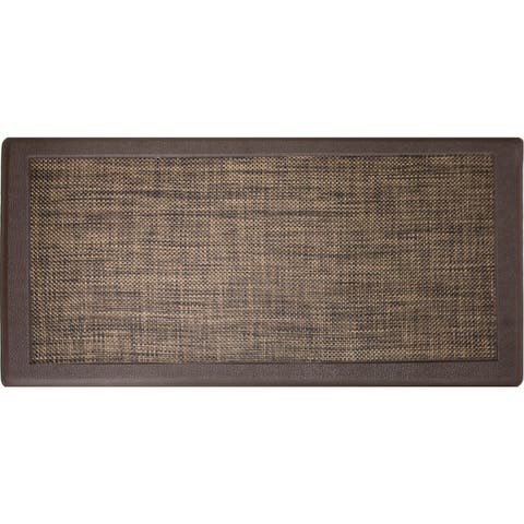 Hillside Oversized Oil And Stain Resistant Anti Fatigue Kitchen Mat