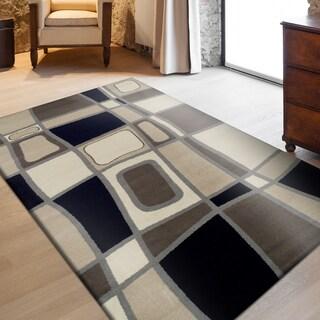 Miranda Haus Designer Cobblestone Area Rug (4' X 6') - 4' x 6'