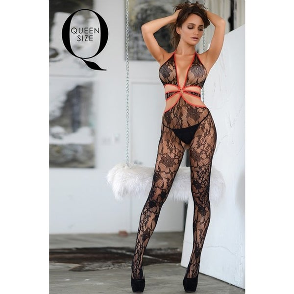 52233ff7297 Shop Fishnet Body Stocking (Plus Size) Style 158Q - Free Shipping On Orders  Over  45 - Overstock - 19760218