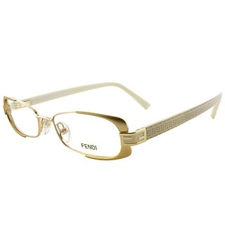 Fendi Oval FE 943 714 Women Gold Frame Eyeglasses