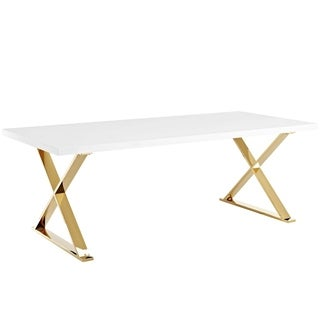 Sector Dining Table - White