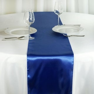 Satin Table Runner Wedding Party Banquet Royal 12 x 108