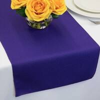 Polyester Table Runners 14 x 72 Puple