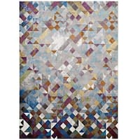 Lavendula Triangle Mosaic Area Rug