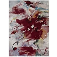 Blume Abstract Floral Area Rug