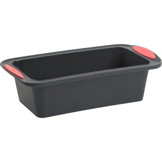Silicone Loaf Pan Gray/Coral